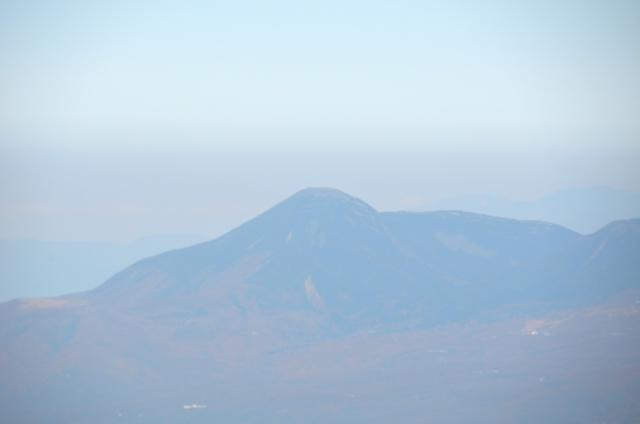 甲斐駒ヶ岳からの眺め 蓼科山