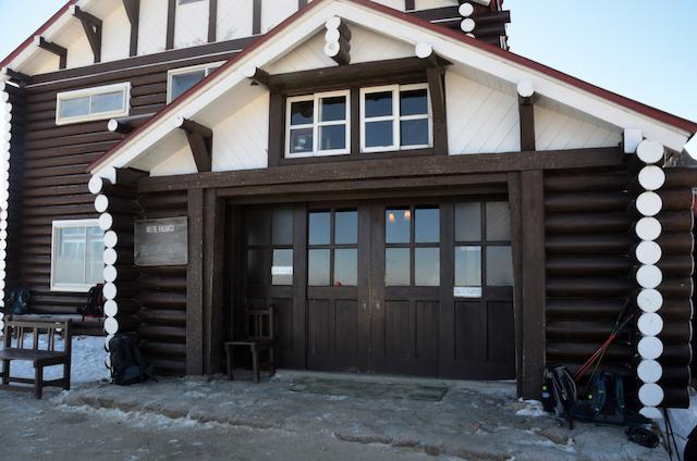 燕山荘 正面玄関