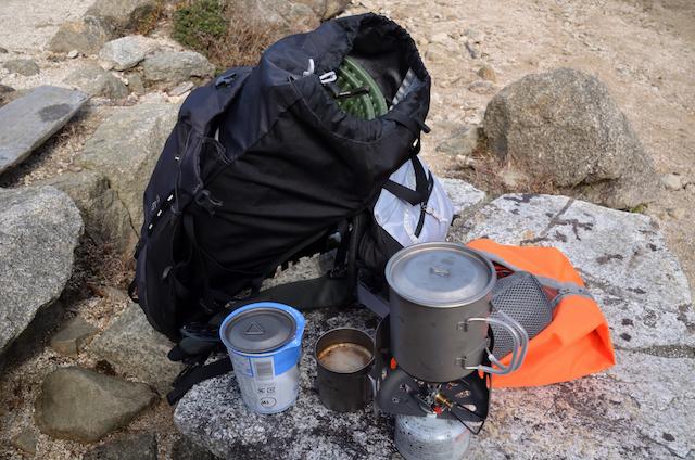 羽鳥峰峠 お昼ご飯