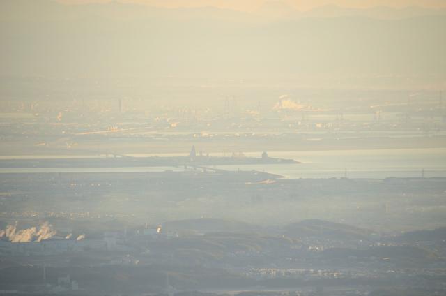 入道ヶ岳 山頂からの眺め ナガシマスパーランド