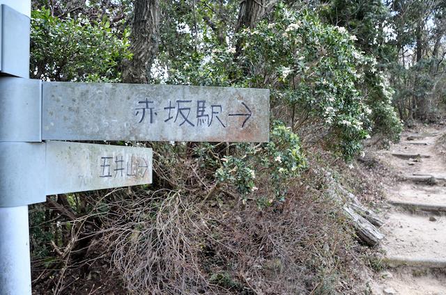 宮路山〜五井山 縦走