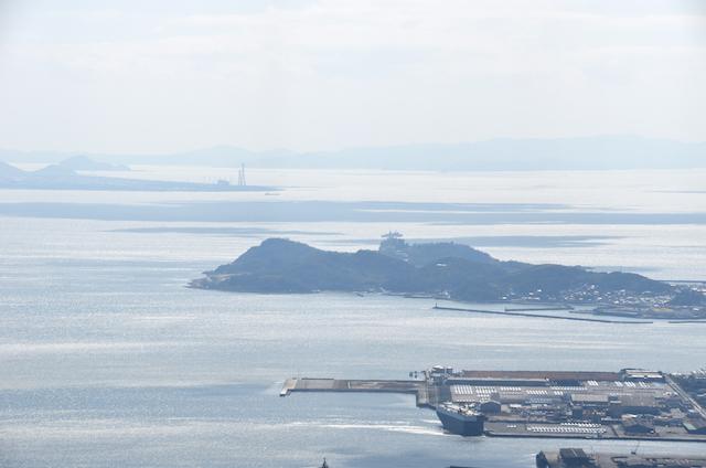 五井山 山頂からの眺め 志摩半島方面