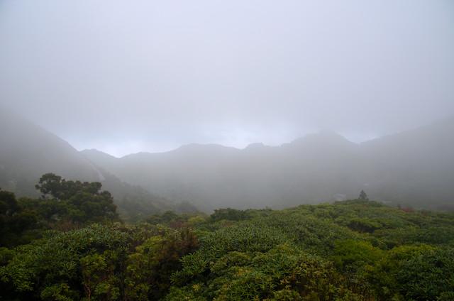 屋久島 登山 黒味岳〜宮之浦岳