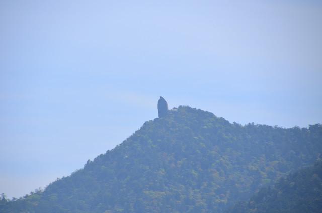 屋久島 太鼓岩からの眺め 太忠岳