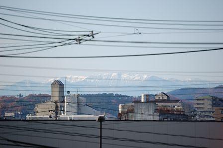 奥羽山脈 北仙台駅