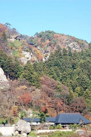 山寺駅からの風景