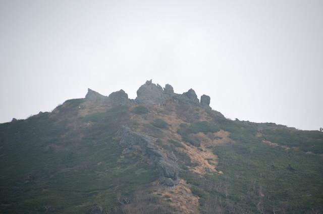 編笠山 権現岳方面