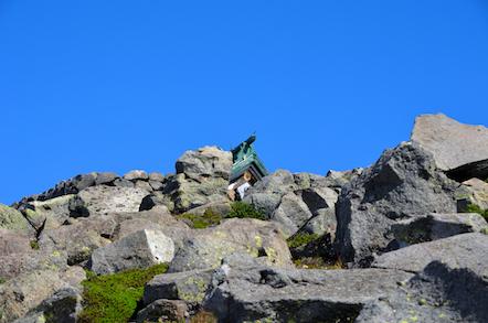 御前峰 山頂