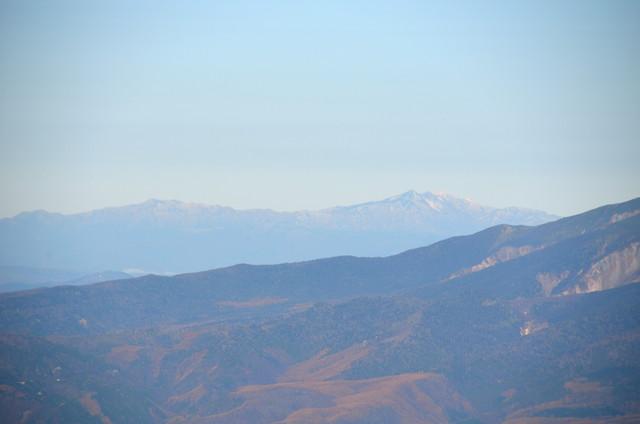空木岳 山頂からの眺め 白山