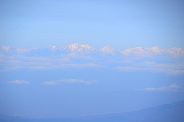 仙丈ヶ岳 山頂からの眺め