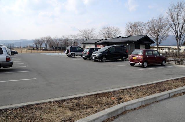 諏訪湖 駐車場
