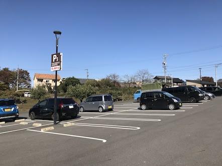 湯の華アイランド 駐車場