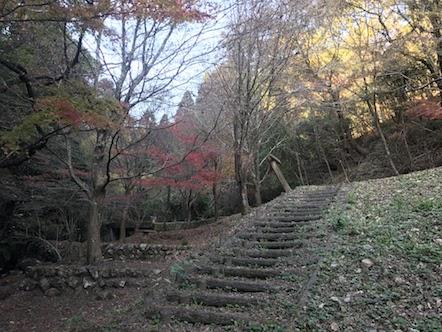 百々ヶ峰 東海自然歩道