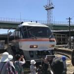 名古屋電車区 キハ85 転車台