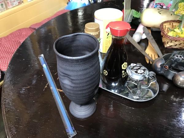おもしろカフェ スプーンアート アイスコーヒー