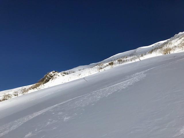 伊吹山 冬 雪山登山 7合目