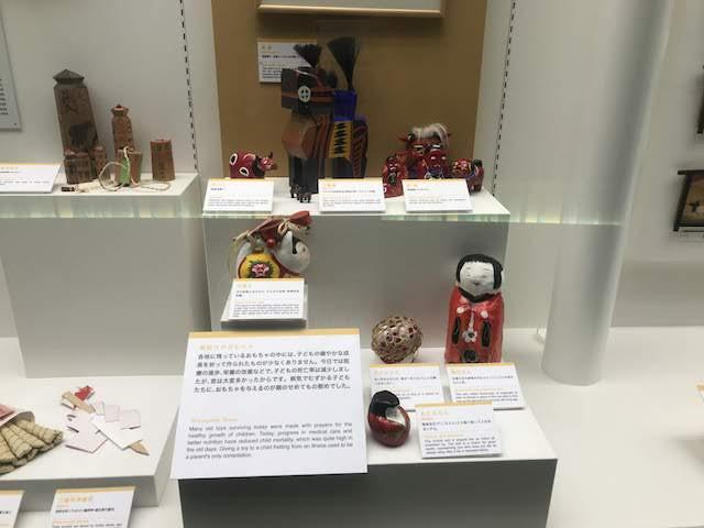 内藤記念くすり博物館 魔除けのおもちゃ