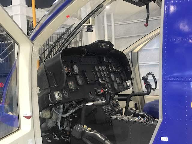 三菱重工業 MH2000 コックピット