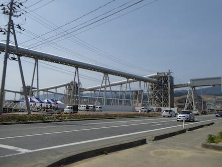 陸前高田市 奇跡の一本松 ベルトコンベアー
