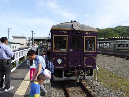 三陸鉄道 南リアス線 レトロ列車 釜石駅
