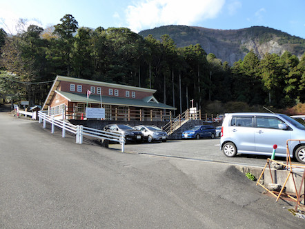 表登山道(大貝戸道) 無料駐車場