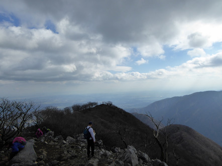 藤原岳 山頂 眺め