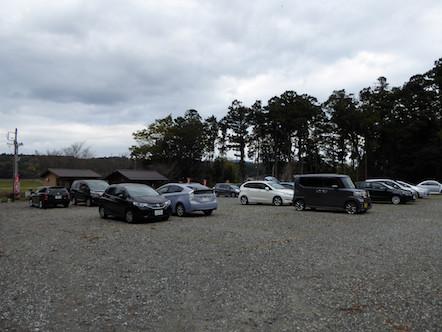 藤原岳 有料駐車場