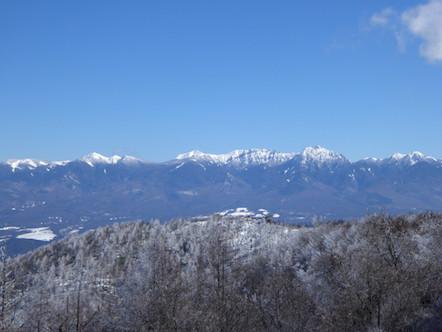 守屋山 東峰 山頂からの眺め