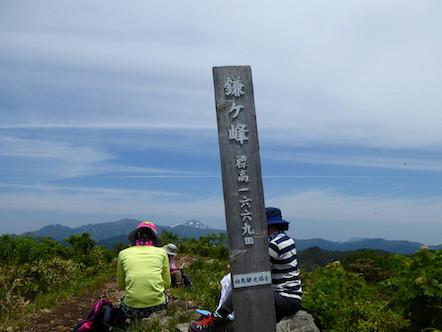 大日ヶ岳 鎌ヶ峰