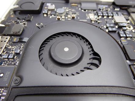 MacBook Pro (Retina, Mid 2012) 掃除