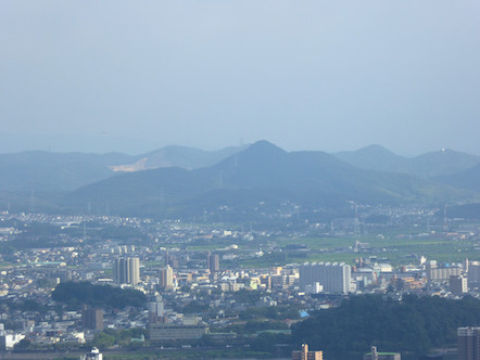 愛宕山 山頂からの眺め