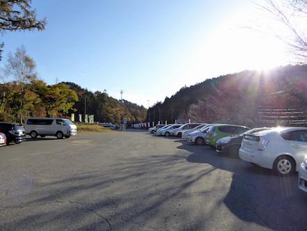 大川入山 治部坂高原スキー場 駐車場