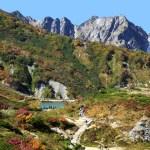 唐松岳 八方尾根登山道 八方池