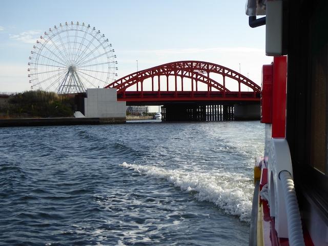 名古屋港クルーズ 中川橋