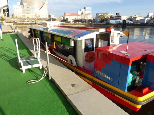 中川運河 ささしまライブ乗り場