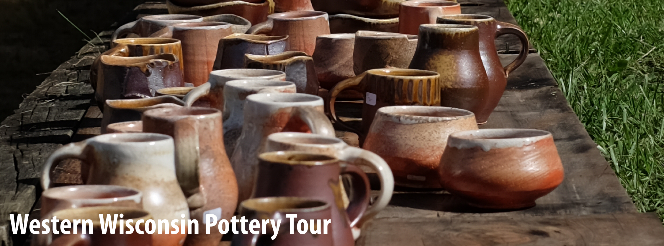 western wisconsin pottery tour take me to the river