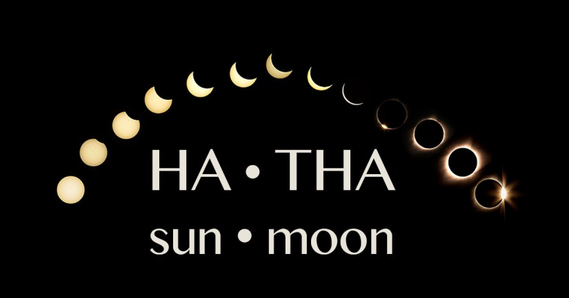 Hatha means sun and moon.