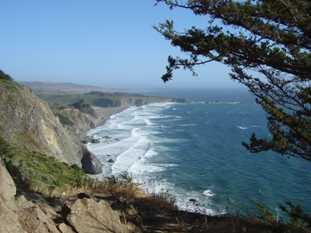 view of pacific coast