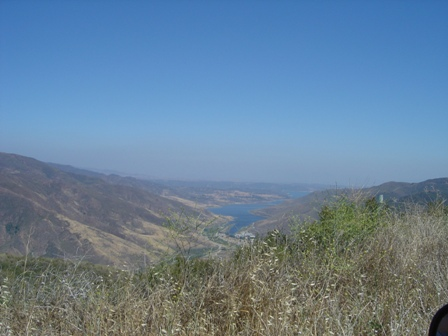 Castaic Lake View, from the Old Ridge Route