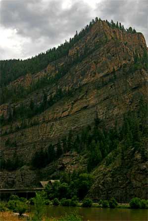 Glenwood Canyon Colorado, Interstate 70