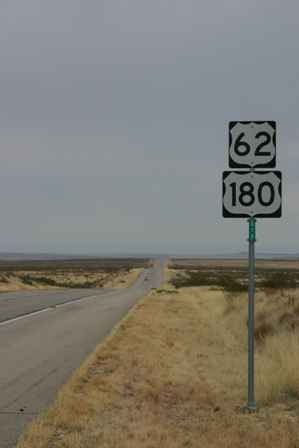 US 62 180, West Texas