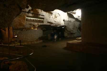 elevators and bathrooms, Carlsbad Caverns National Park