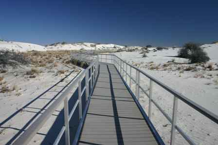 Interdune Boardwalk, White Sands National Monument, New Mexico