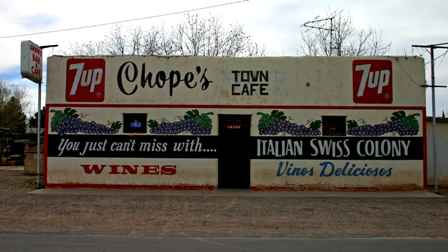 Chope's Town Cafe Restaurant & Bar, La Mesa New Mexico