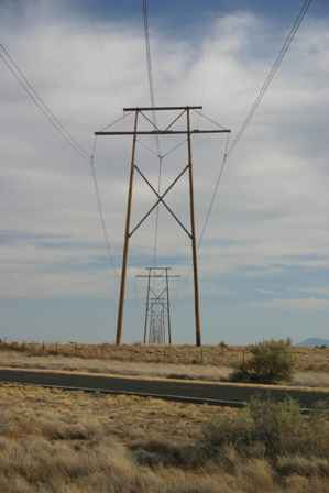 power poles, Lake Valley Country Scenic Byway