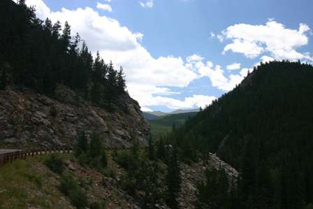 Road to Mt. Evans