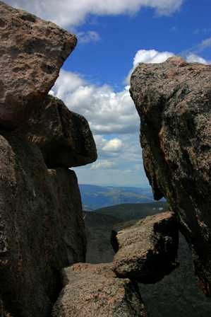 View from the Top of Mt. Evans