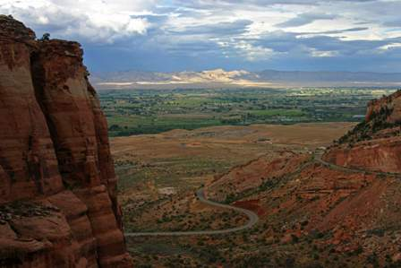 Rim Rock Drive, Colorado National Monument, Western Front, Fruita, Grand Junction