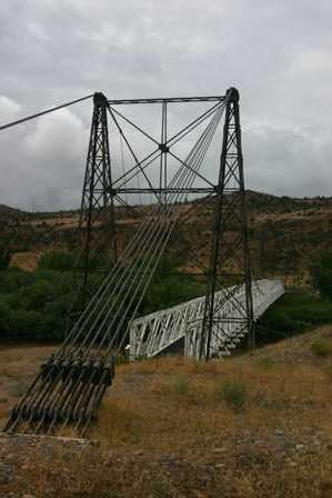 Dewey Suspension Bridge, Upper Colorado River Scenic Byway, Utah