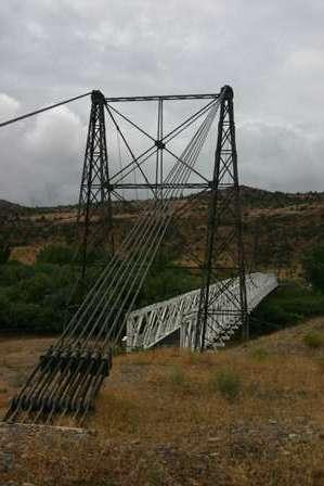 Dewey Suspension Bridge, Upper Colorado River Scenic Byway, Utah